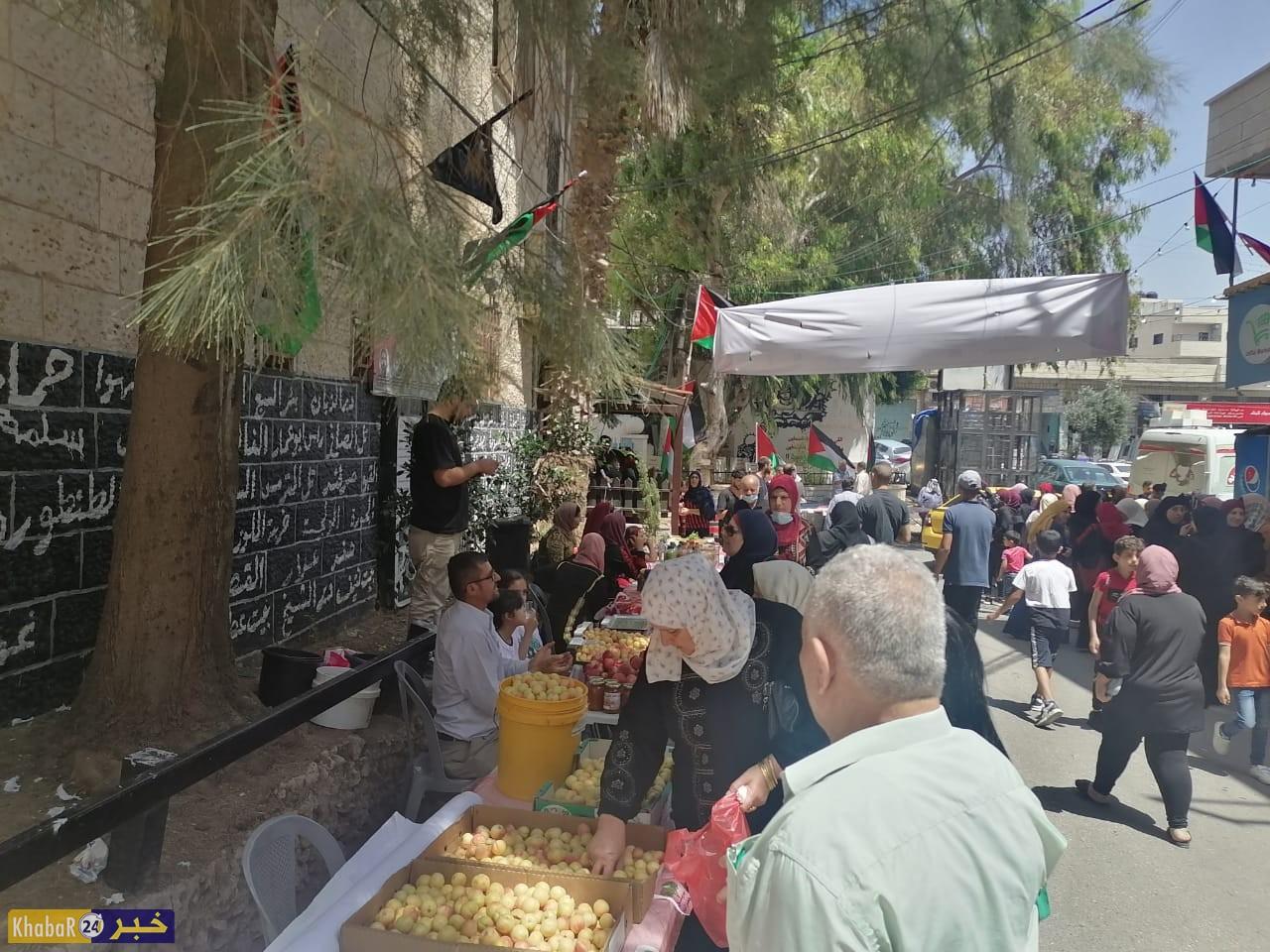 افتتاح بازار لدعم المنتج الوطني في بيت لحم
