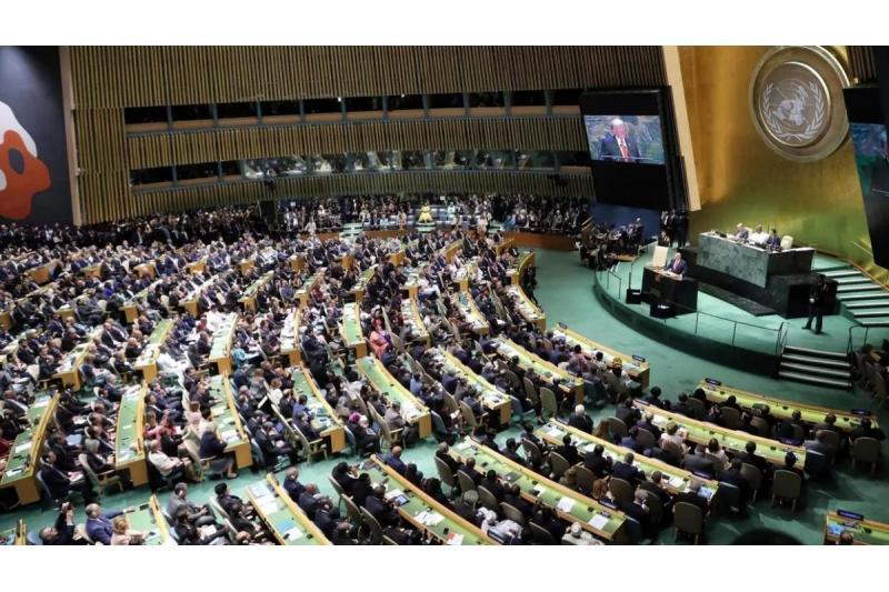 الرئيس عباس يلقي خطابا هاما أمام الجمعية العامة للأمم المتحدة اليوم