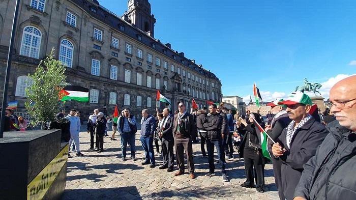 إحياء يوم العَلَم الفلسطيني في الدنمارك