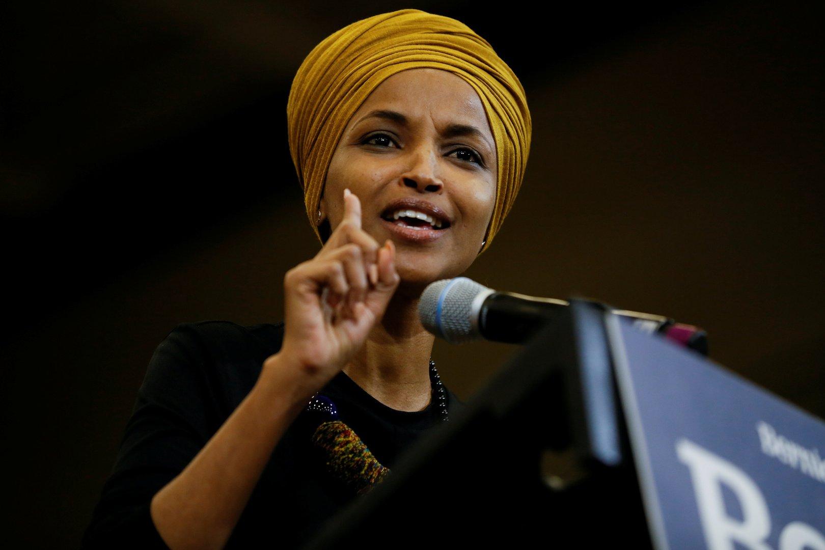 عضو الكنغرس الامريكي إلهان عمر تواجه حملة جديدة ضدها
