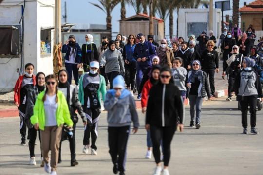 اتحاد الثقافة الرياضية ينظم فعالية رياضية نسوية