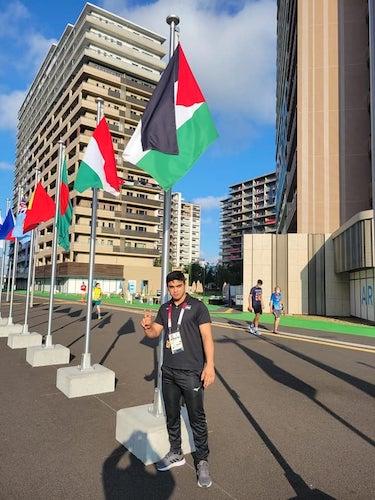 فلسطين تنهي مشاركتها في دورة الألعاب الأولمبية بطوكيو