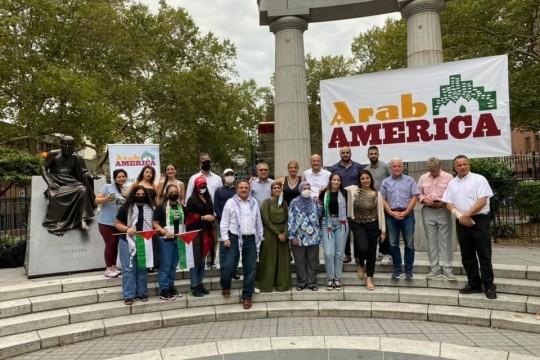 """الجالية الفلسطينية تشارك في مهرجان """"العرب الأميركان"""" في نيويورك"""