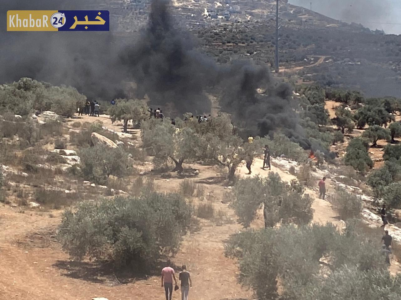 محدث2 ..الهلال الأحمر: 379 اصابة في مواجهات جبل صبيح بينها 31 بالرصاص الحي