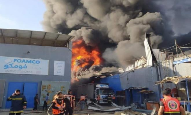 ثلاثة آلاف عامل في غزة بدون عمل نتيجة قصف المنشآت الإقتصادية