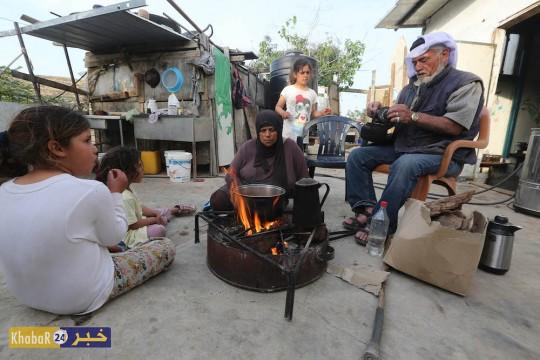 """عدسة """"خبر 24"""" تزور عائلة الحاج عيسى صافي الصامدة بوجه الاحتلال في الخليل"""
