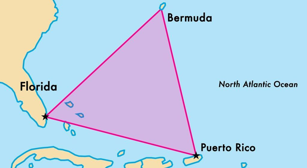 """اكتشاف مثير في لغز """"مثلث برمودا"""" الغامض"""