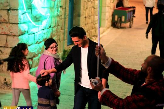 كواليس تصوير اغنية محمد عساف الجديدة