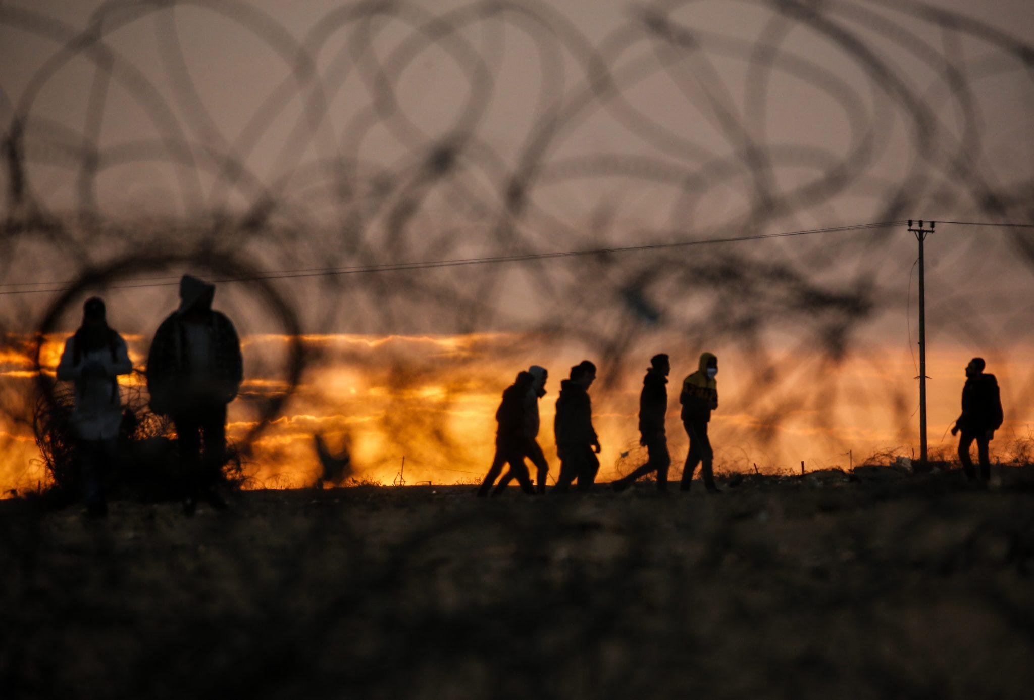 اعتقال مسلح حاول التسلل الى مناطق 48 من جنوب قطاع غزة