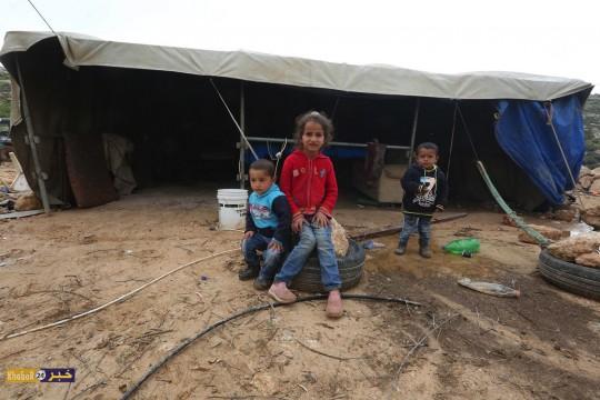 الحياه اليومية في قرى غرب يطا جنوب الخليل