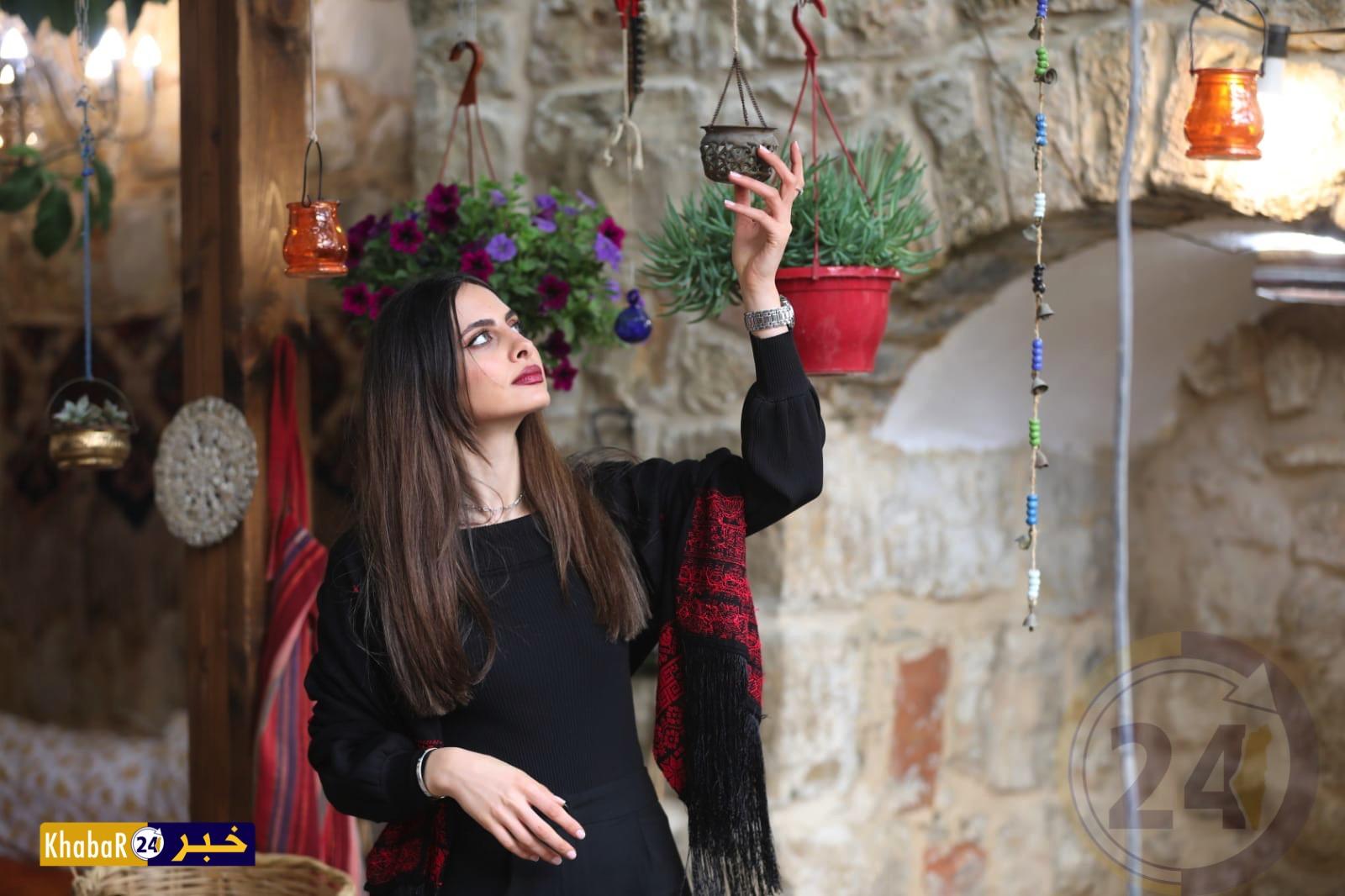 ملكة جمال فلسطين 2019 تشارك بمسابقة ملكة جمال البيئة بمصر