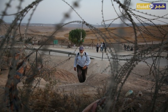 معاناة العمال الفلسطينين
