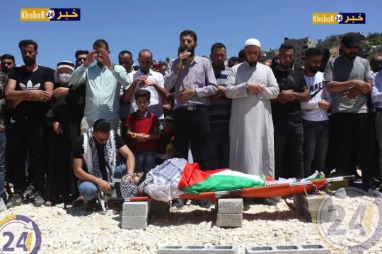 صور من جنازة الشهيد نزار ابو زينة - طولكرم