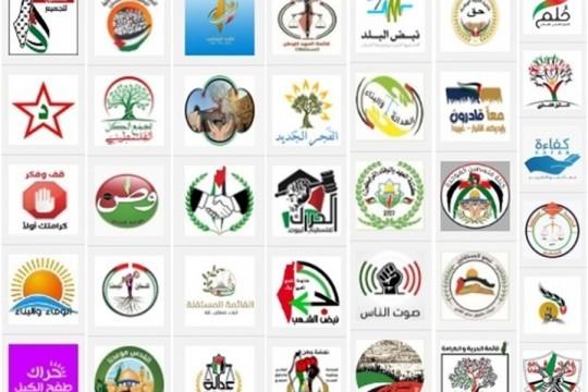 نشر الكشف الأولي للقوائم المرشحة للانتخابات التشريعية الفلسطينية2021