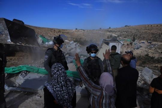 """""""أوتشا"""": اسرائيل هدمت 178 مبنى فلسطينيا وهجرت 259 فلسطينيا منذ مطلع العام الجاري"""