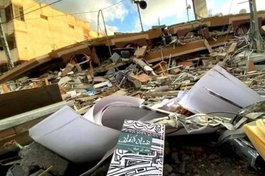 وزارة الثقافة: 3.4 مليون دولار مجمل خسائر القطاع الثقافي خلال العدوان الأخير على قطاع غزة