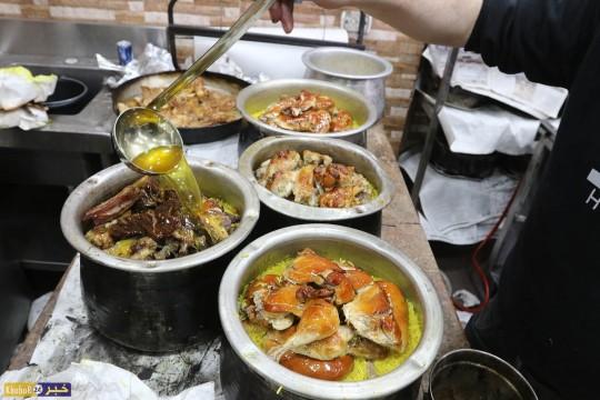 """""""القِدرة"""" من الأكلات الشعبية الفلسطينية"""
