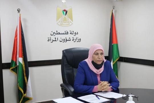 د. حمد: مشاركة المرأة الفلسطينية في سوق العمل الأقل في دول العالم