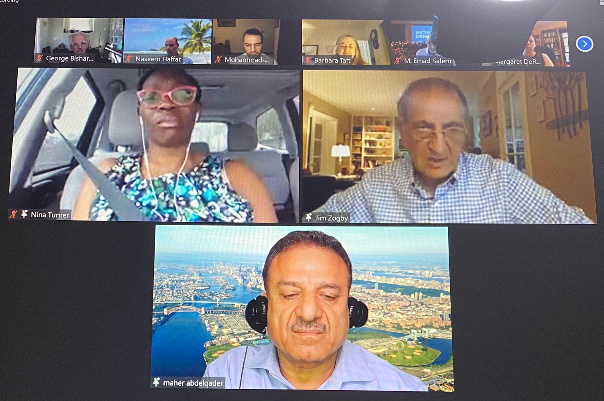 لقاء للجالية العربية الامريكية دعما لمرشحة الكنغرس الامريكي تيرنر