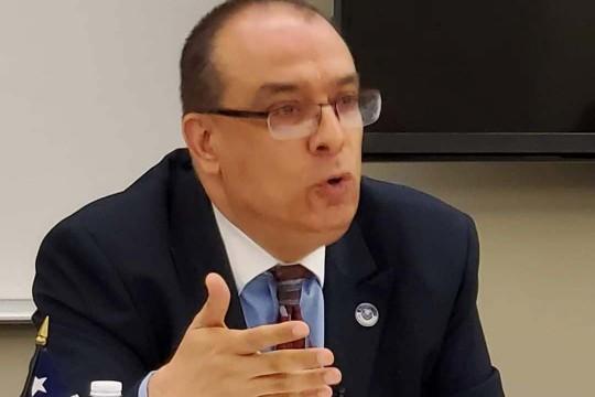 جون ضبيط: رفع العلم الاسرائيلي خلال الاعتداء على الكونغرس دليل على ان اسرائيل اكبر المتضررين من فوز بايدن