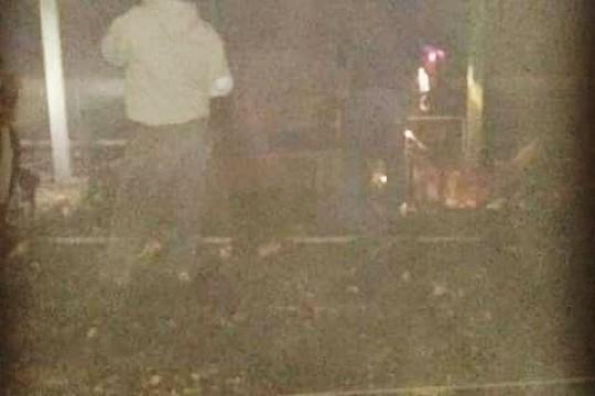 نفوق 20 الف طير دجاج  في حريق بركس بمحافظة قلقيلية