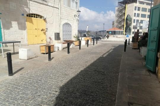 صور لشارع النجمة أقدم شوارع بيت لحم التاريخية