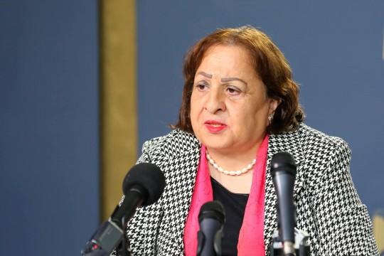 وزيرة الصحة: لا موعد محدد لوصول لقاح كورونا وتعاقدنا مع أربع شركات
