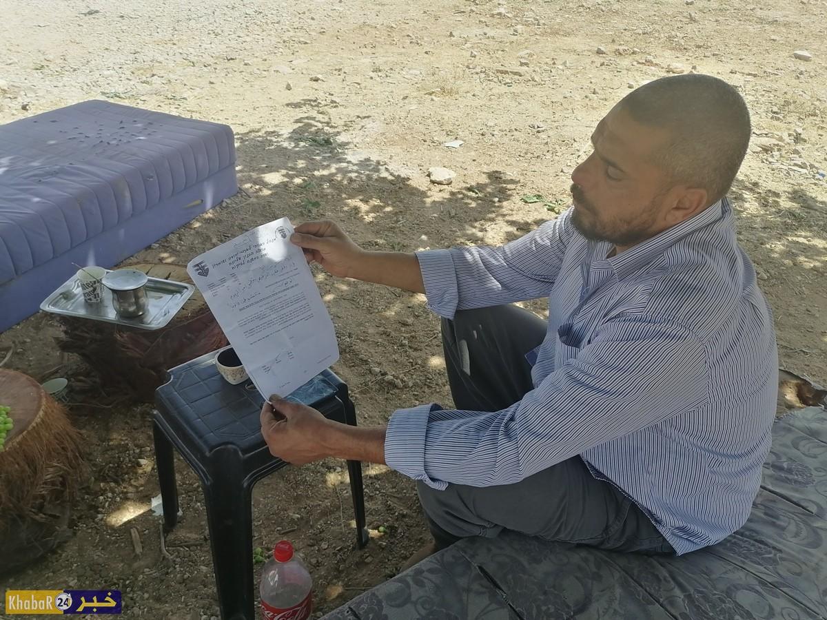 الاحتلال يمهل عائلة من الخضر جنوب بيت لحم 10 ايام لهدم منزلها