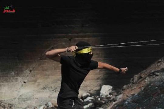 3 اصابات برصاص الاحتلال خلال قمع مسيرة كفر قدوم الاسبوعية