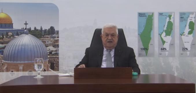 الرئيس أمام الجمعية العامة للأمم المتحدة: وصلْنا لمواجهةٍ معَ الحقيقةِ مع سلطةِ الاحتلال وَيبدو أننا على مفترقِ طرق وقَدْ طفحَ الكيل والوضعُ أصبحَ لا يُحتمل