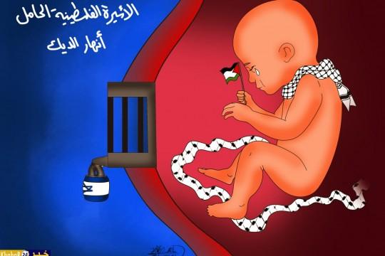 الأسيرة الفلسطينية الحامل انهار الديك