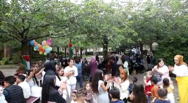 جمعية المرأة الفلسطينية في السويد تحتفل في عيد الأضحى المبارك في مدينة هلسنبوري