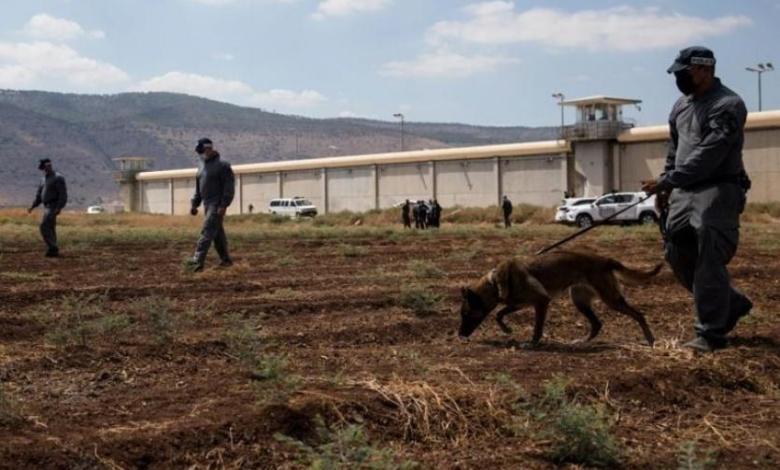قناة كان الإسرائيلية: 6 ملايين شيكل تكلفة البحث عن أسرى معتقل جلبوع الستة