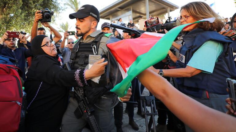 مشادات بين فلسطينيين ويمينيون إسرائيليون على خلفية زيارة بن غفير الاستفزازية لكفر قاسم