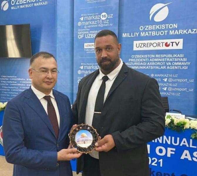 ابو عيده رئيسا للجنة الإدارية لدورة الألعاب الاسلامية في رياضة السامبو
