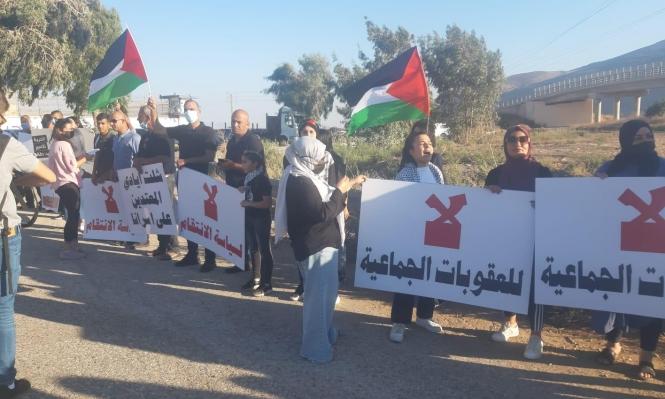"""تظاهرات داعمة للأسرى أمام سجن """"جلبوع"""" وفي كفر كنا وجنين والعاصمة الإسبانية"""