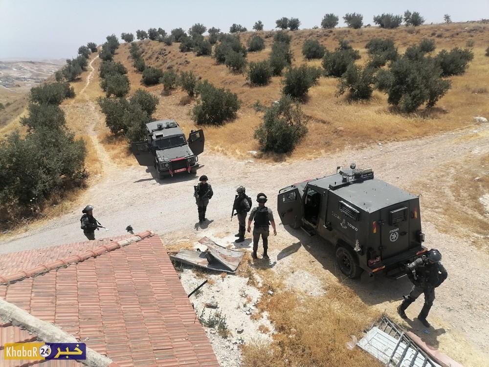 قوات الاحتلال تهدم منزلا شرق بيت لحم