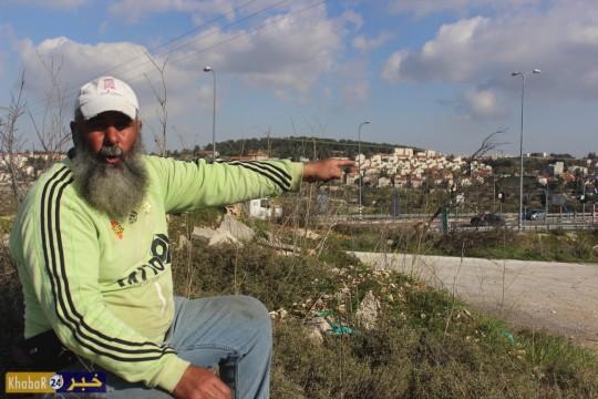 الاحتلال يخطر بهدم غرف زراعية جنوب بيت لحم