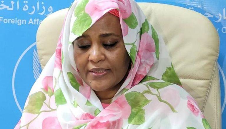 """""""الخارجية"""" السودانية تحتج على لقاء وزير """"عدلها"""" بوزير التعاون الإقليمي الإسرائيلي"""