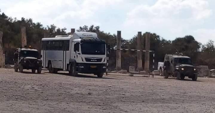 الاحتلال يغلق الموقع الأثري في سبسطية أمام المواطنين