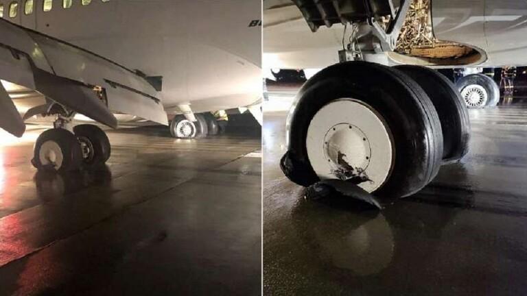 انفجار إطارات طائرة مصرية أثناء هبوطها بمطار كلوج نابوكا في رومانيا