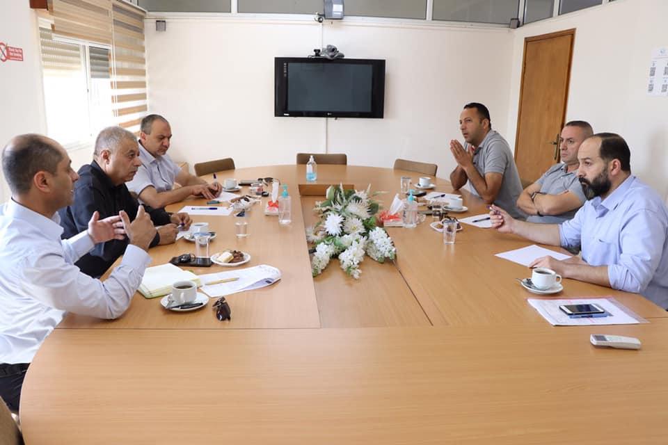 اللجنة المشتركة من غرفة تجارة وصناعة بيت لحم واتحاد صناعة الحجر والرخام تباشر مهامها