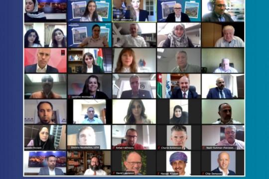 اتحاد البورصات الأوروبية الآسيوية يعقد فعالية للتعريف ببورصتي فلسطين وعمان