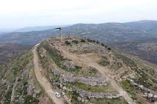 """القناة العبرية 12"""" : 10 ملايين شيقل تكلفة إخلاء البؤرة الاستيطانية على جبل صبيح"""""""
