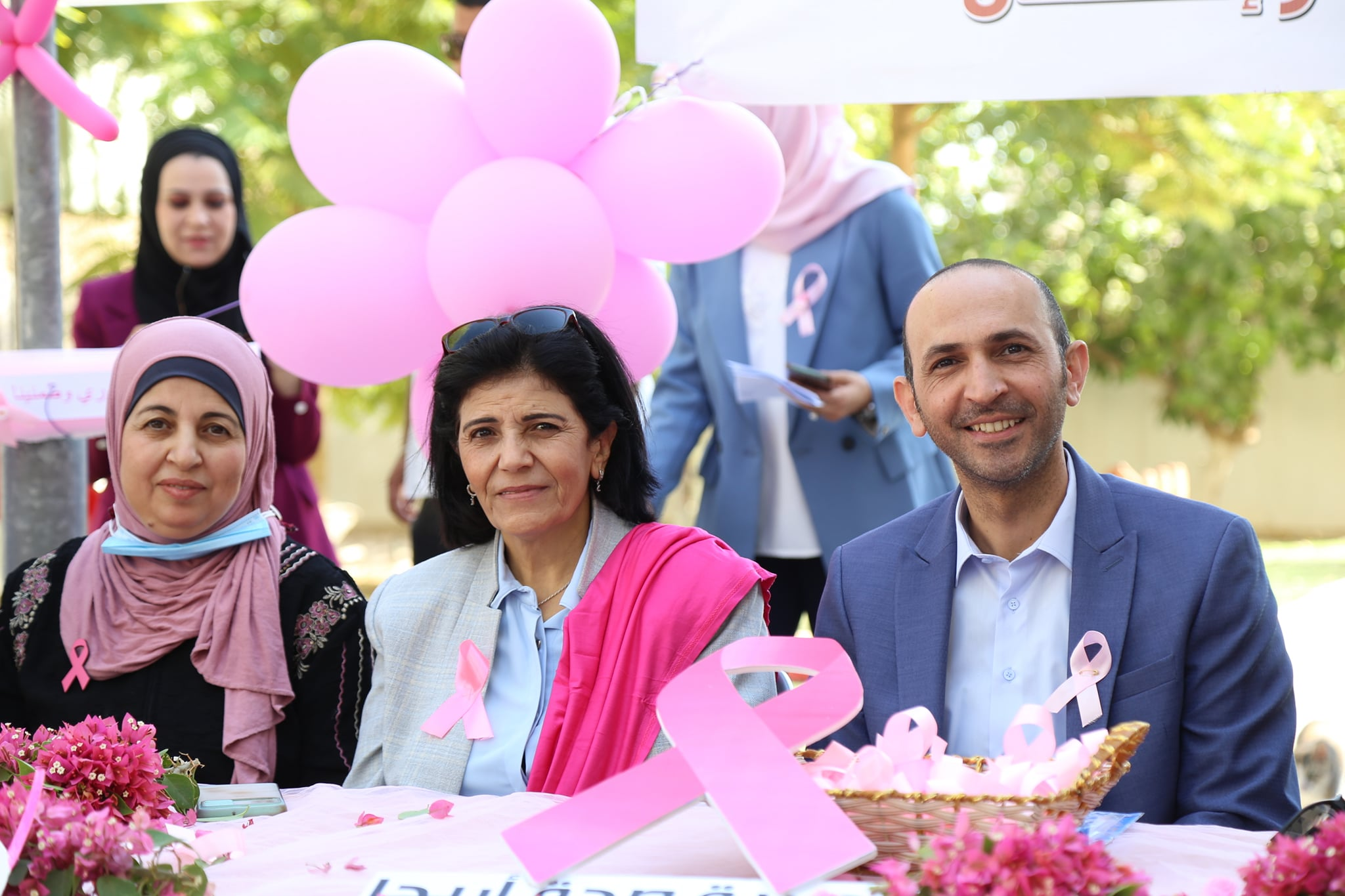 مديرية الصحة ومحافظة اريحا والأغوار تطلقان فعاليات اكتوبر الوردي للتوعية بسرطان الثدي