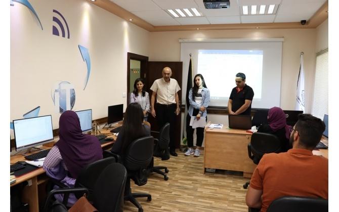 غرفة تجارة وصناعة محافظة بيت لحم تفتتح دورتي تصميم المواقع الالكترونية وشبكات الحاسوب