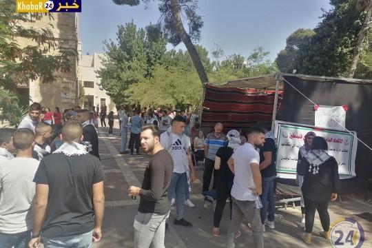 الأزمة المالية في جامعة بيت لحم تلقي بظلالها مع استمرار إضراب نقابة العاملين..والطلبة هم المتضرر الأكبر