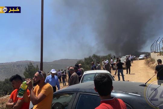 36 اصابة بالرصاص الحي والمعدني خلال المواجهات في جبل صبيح ببلدة بيتا جنوب نابلس