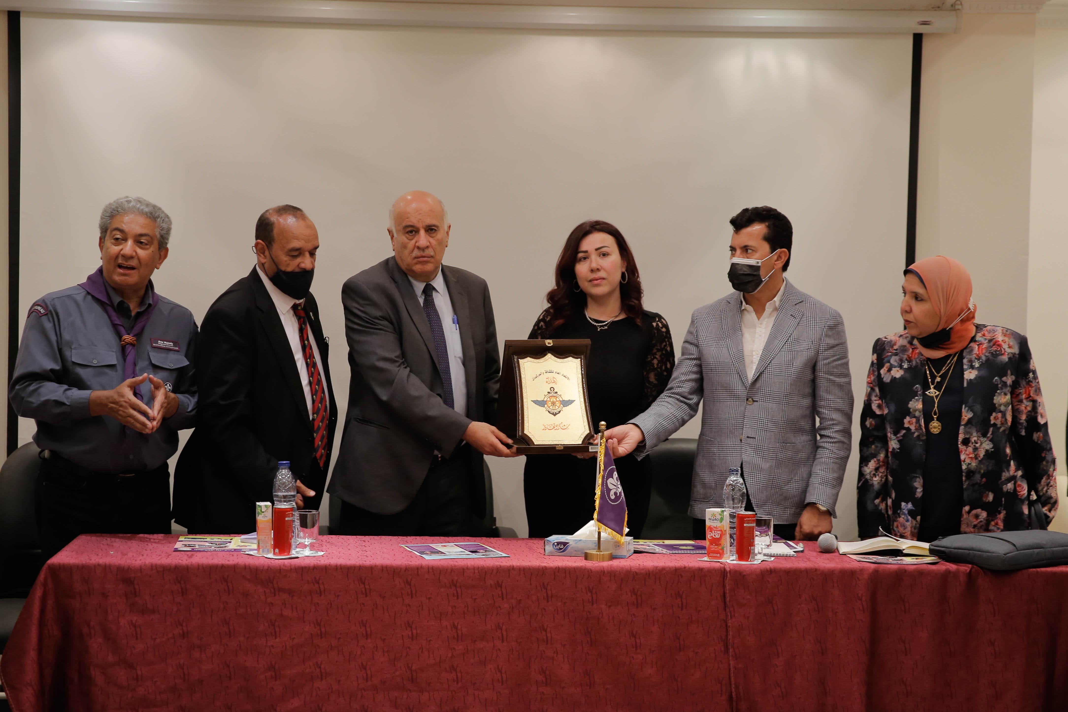 توقيع اتفاقية تعاون مشترك بين جمعية الكشافة الفلسطينية والاتحاد العام للكشافة والمرشدات المصري