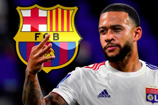 برشلونة يعلن رسميًا تعاقده مع ديباي